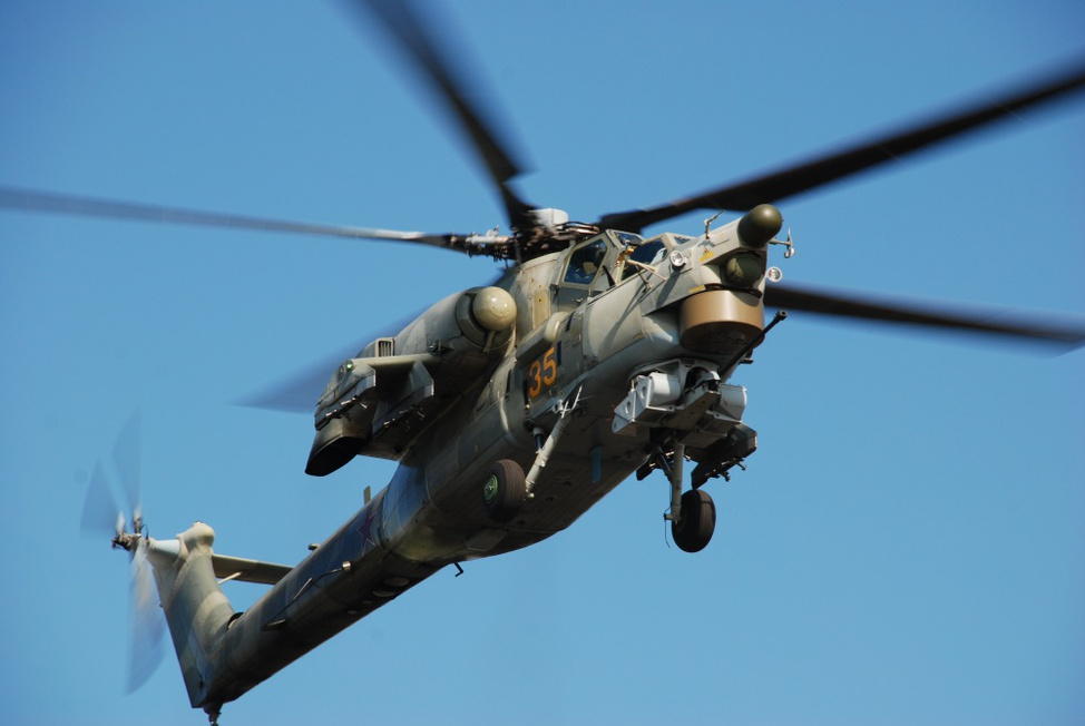 MI-28. Foto: http://www.russianhelicopters.aero/